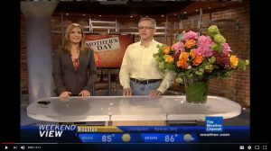 Cut Flower on The Weather Channel - Mother's Day 2012