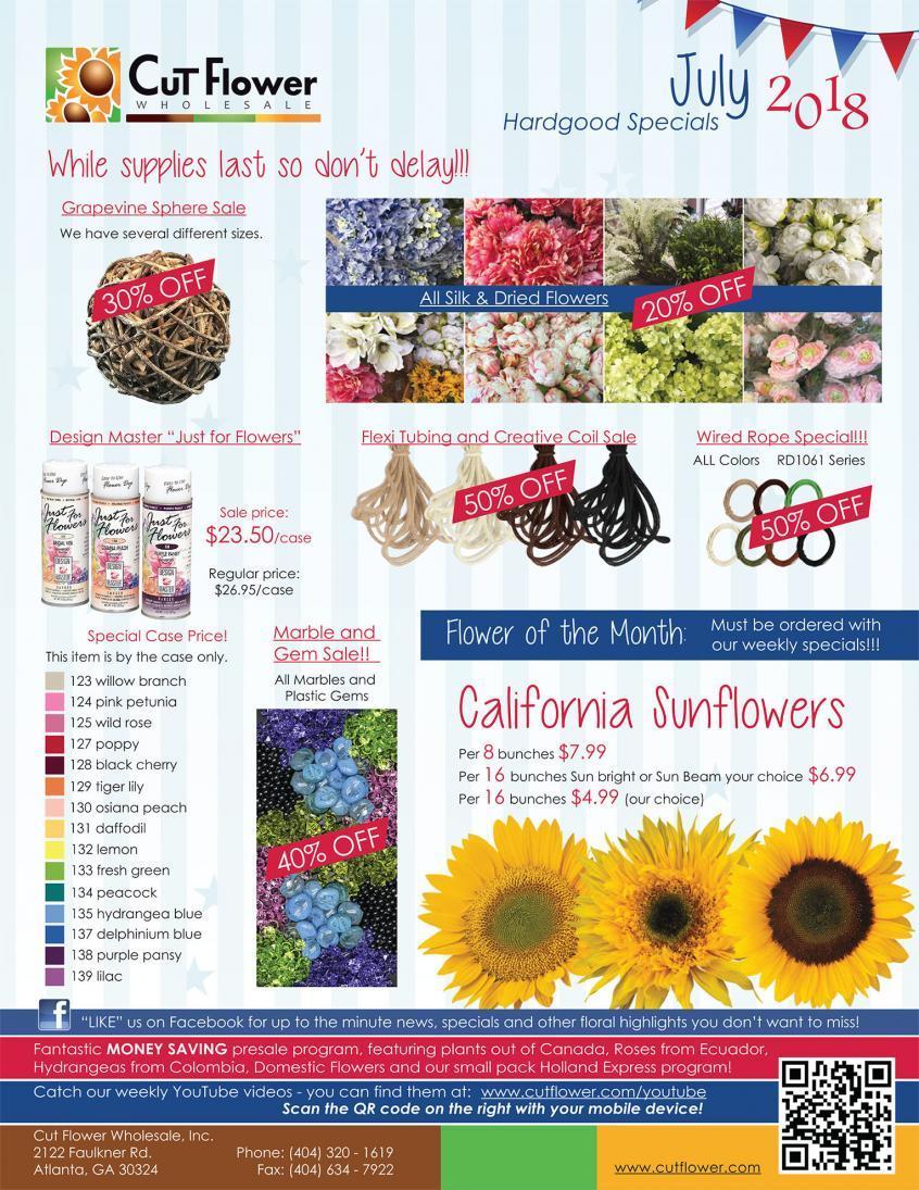 Design Master Archives Cut Flower Wholesale