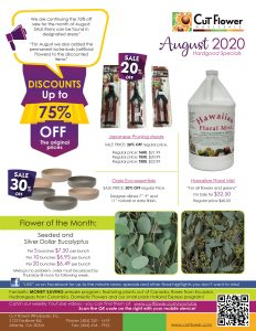 Hardgoods flyer August 2020